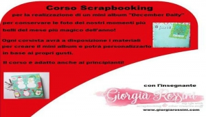 Corso di Scrapbooking - December daily!