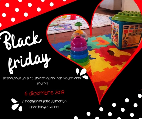 Black Friday: Animazione Matrimonio